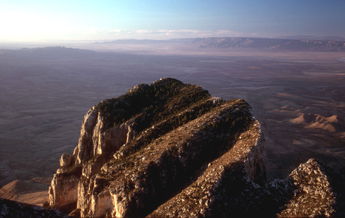 From Guadalupe Peak Summit, 2000